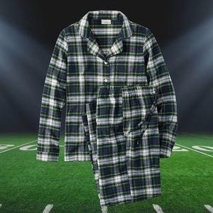 LL Bean Flannel Pajama Set